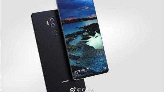 So könnte das Huawei Mate 10 Pro aussehen.