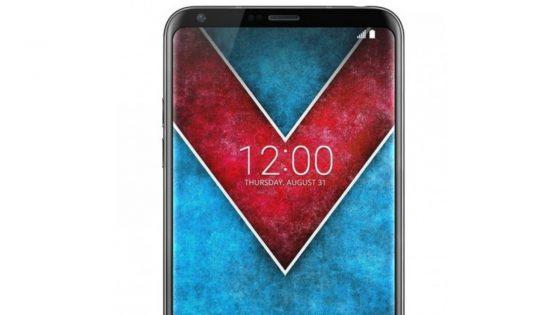 LG V30 geleaktes Renderbild