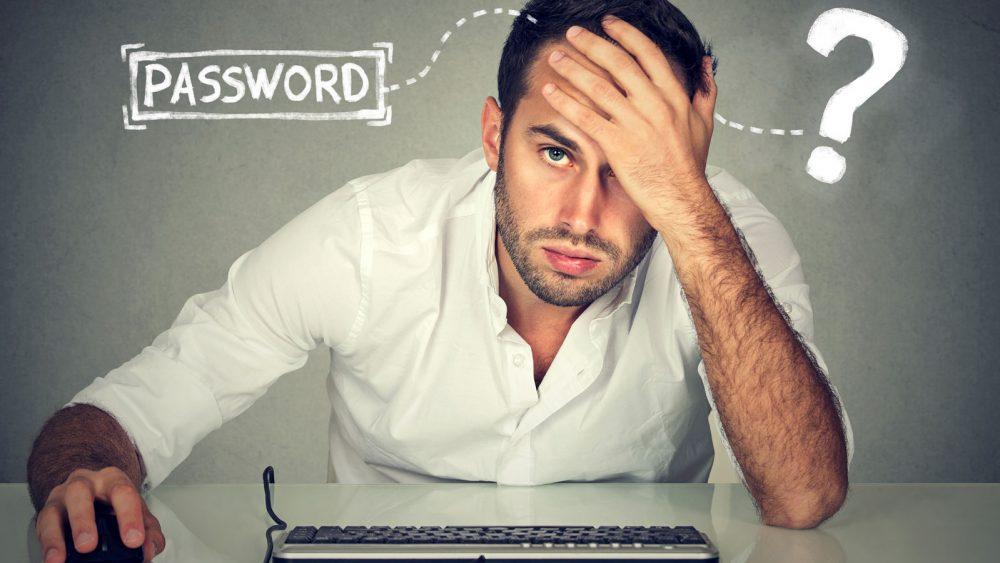 Grübeln um das perfekte Passwort zu finden