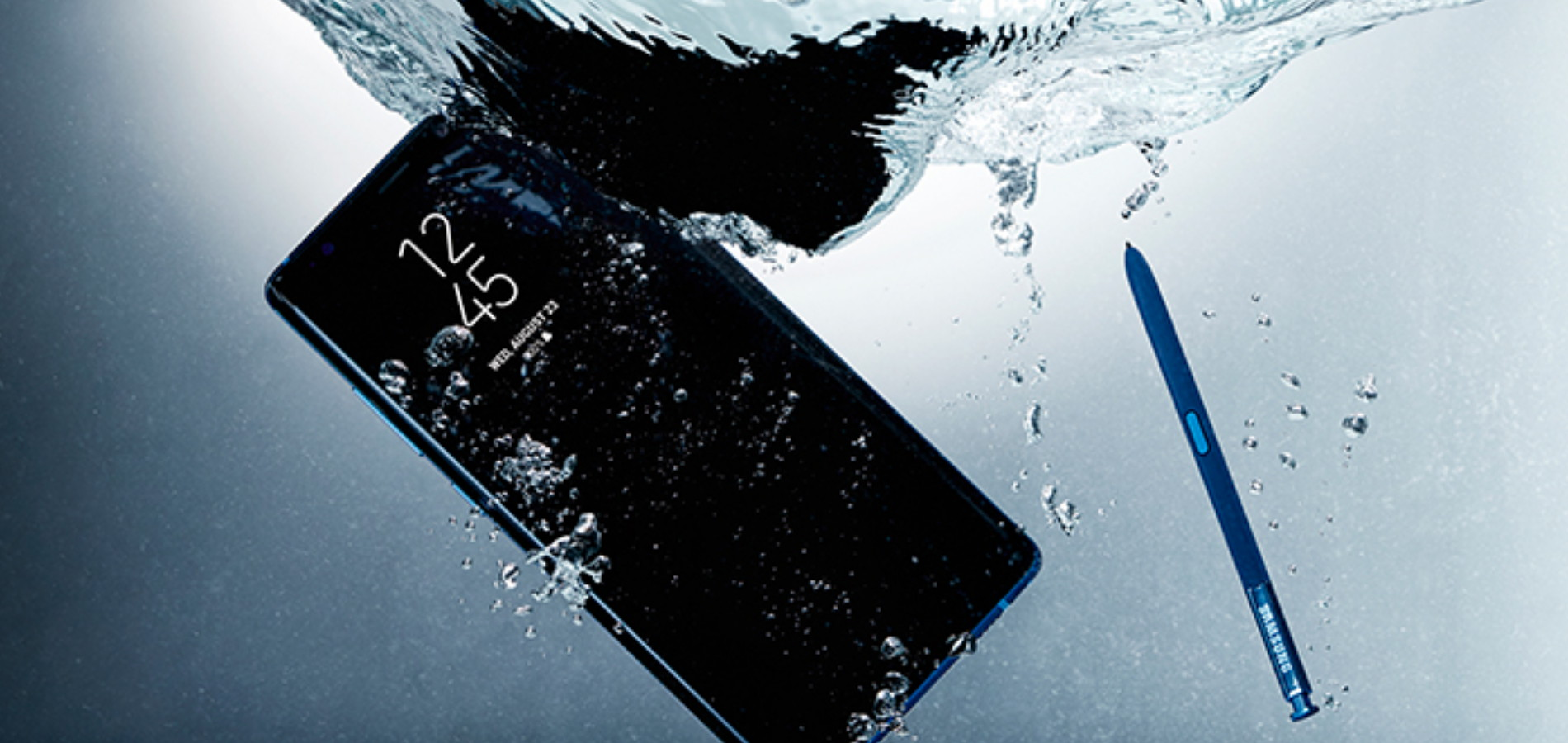 Galaxy Note8 wasserfest