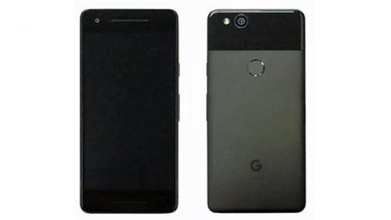 Ein Leak-Bild des Google Pixel 2