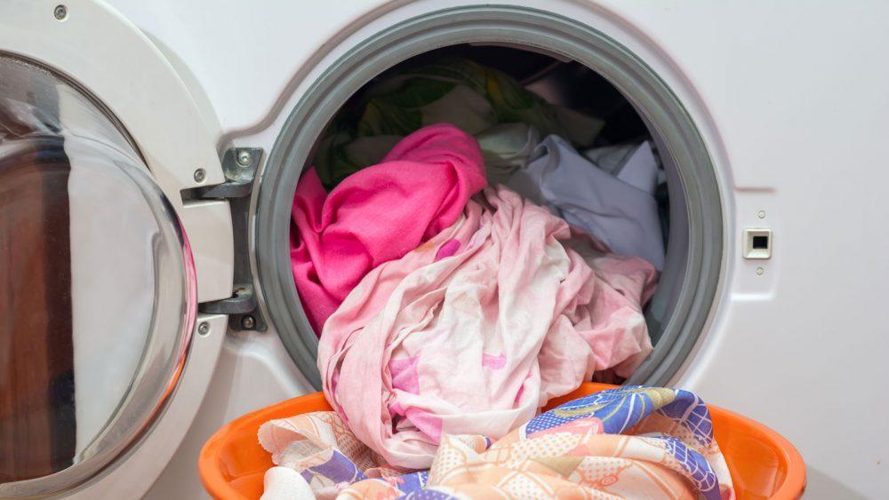 Gummidichtung an der Waschmaschine