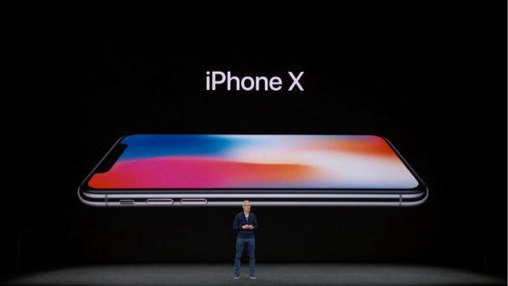 iPhone X mit randlosem Display