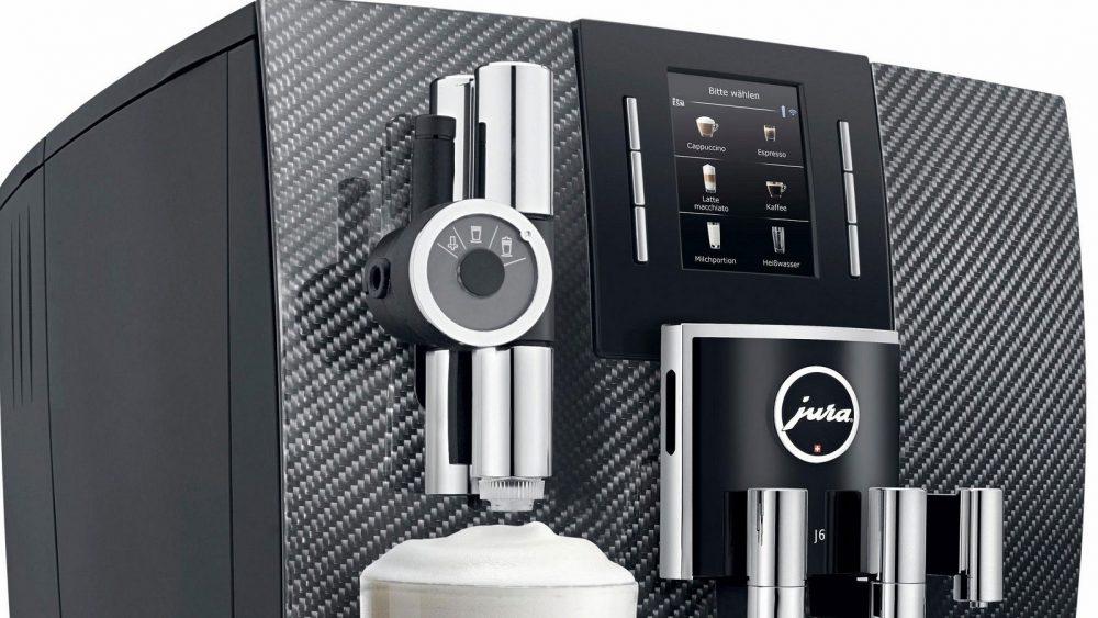 Die Feinschaumdüse einer JURA-Kaffeemaschine