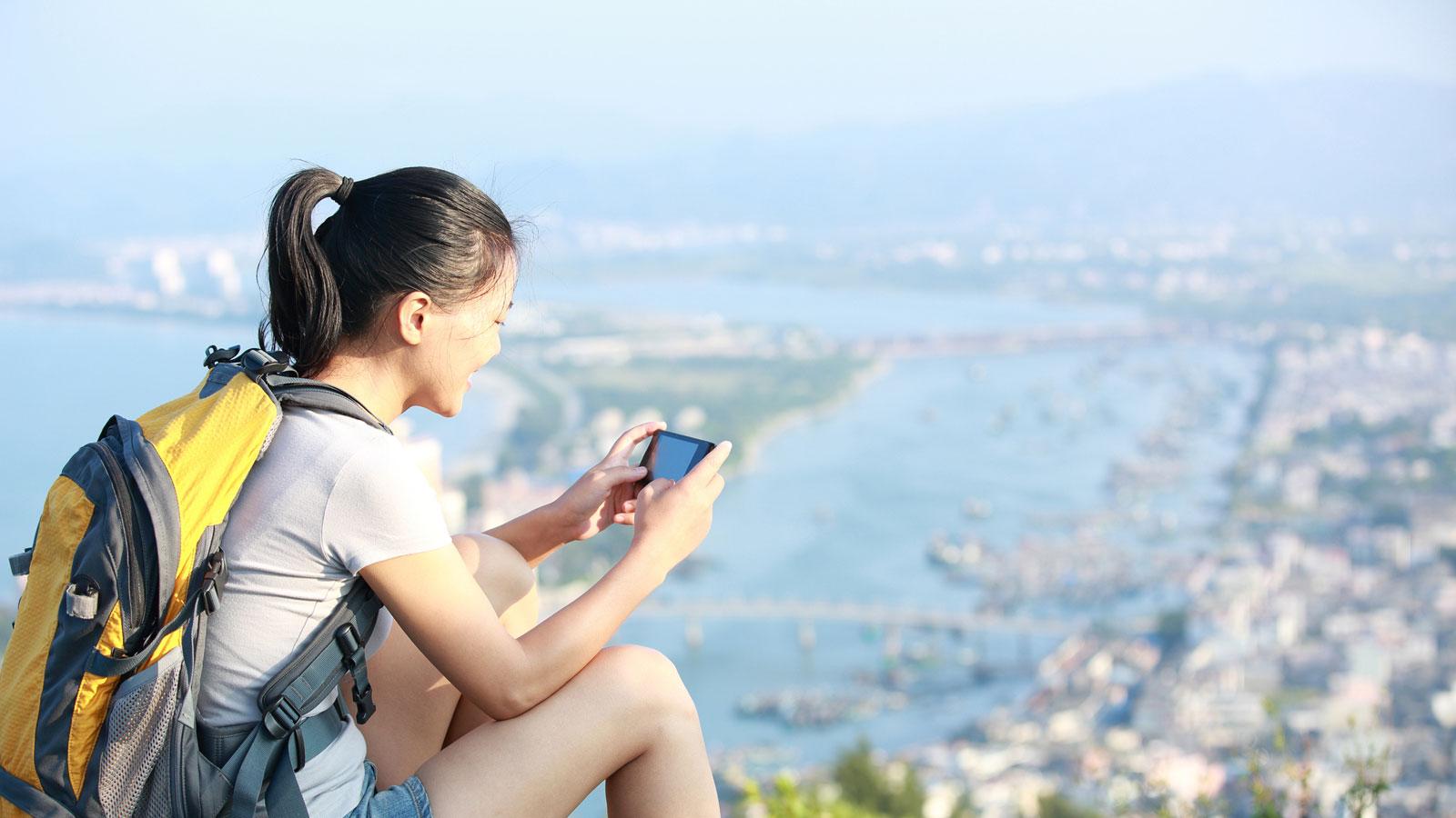 Outdoor-Apps für die Bergwanderung oder Radtour