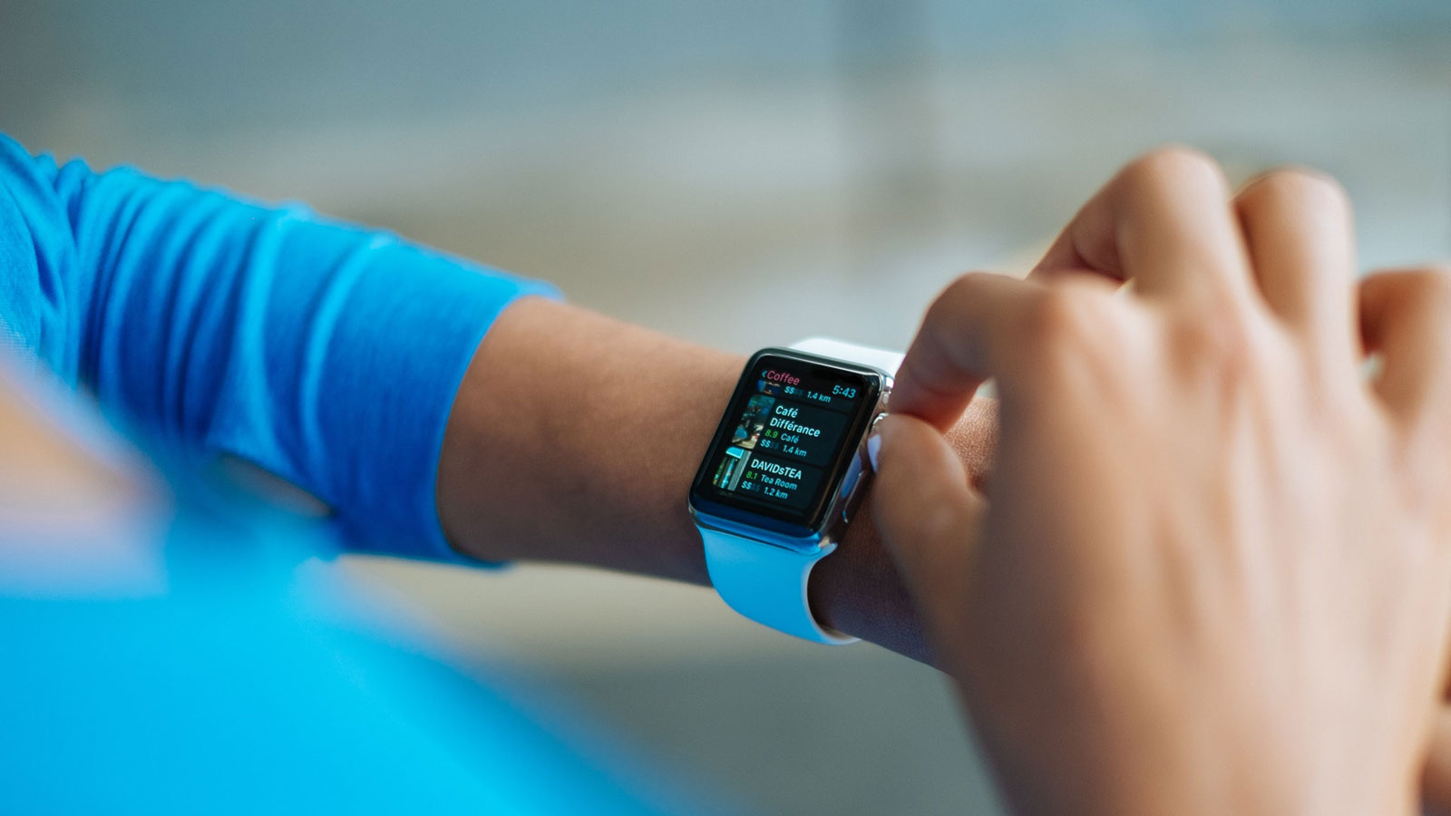 Das Apple Watch Zifferblatt anpassen.