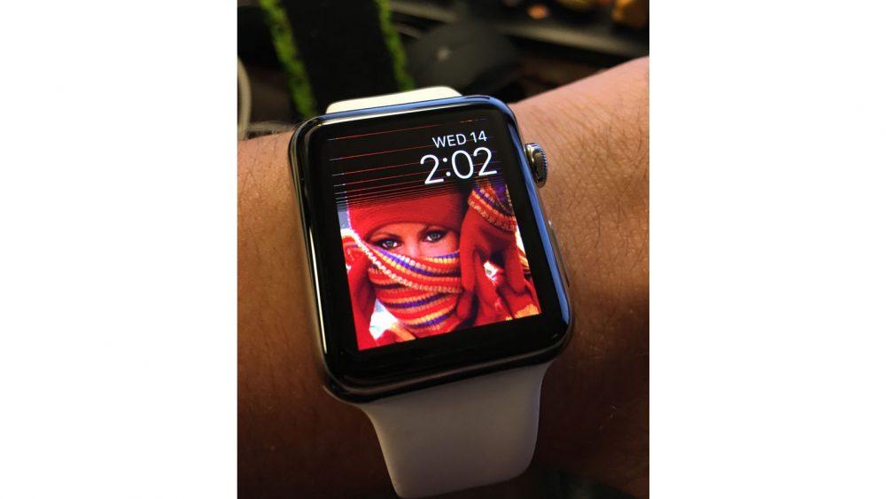 Apple Watch Bildschirm reinigen