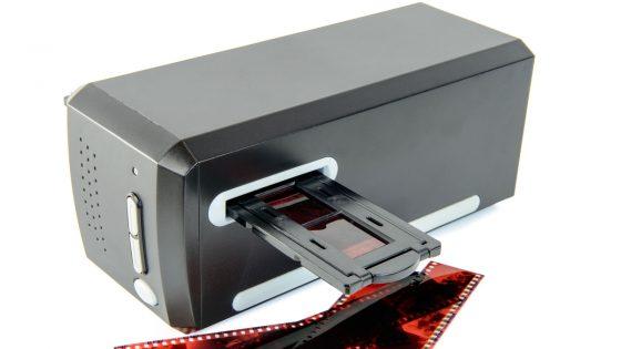 Dias digitalisieren spezieller Dia-Scanner