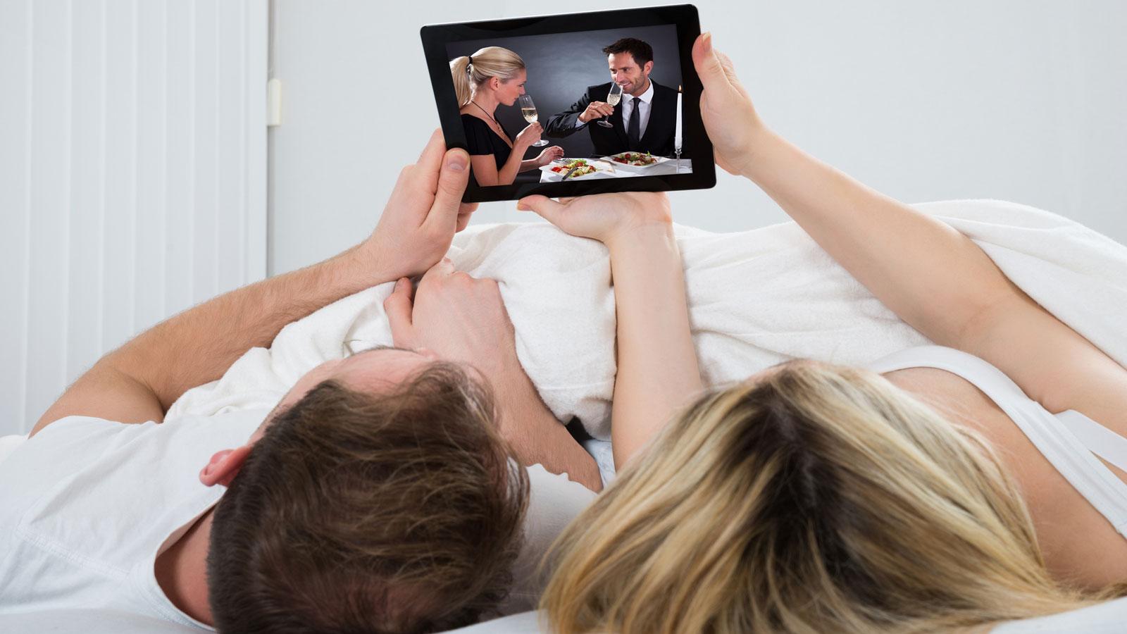 Mit SAT-IP-Technologie bequem im Bett auf dem Tablet fernsehen