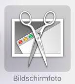 Mac Screenshot machen Bildschirmfoto-Icon