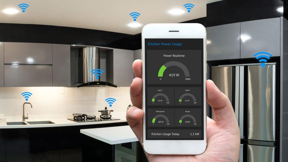 Smart Home Steuerung per App und Funknetz