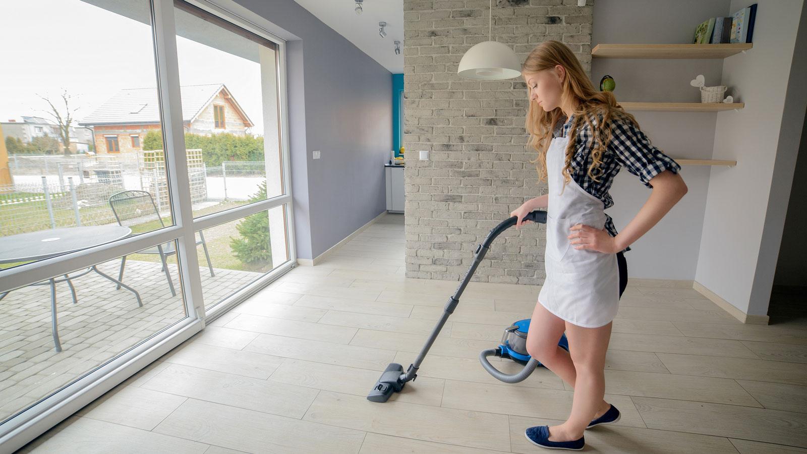 Für die Hausarbeit muss der Staubsauger funktionieren