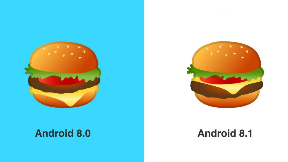 Google Burger Emoji Debatte