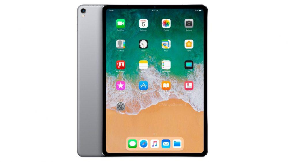 Apple iPad Renderbild