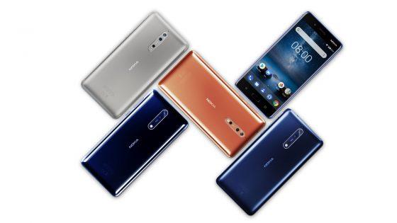 Nokia 8 Range