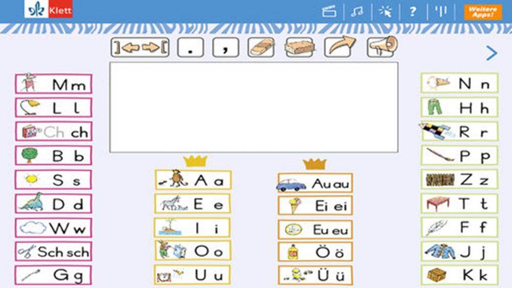 """Ansicht von Schreibtabelle und Textfeld bei """"Die Zebra Schreibtabelle"""""""