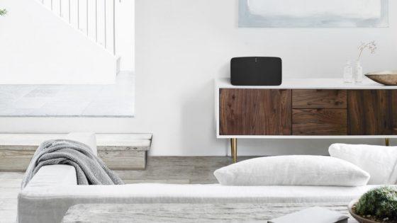 Möbel mit Sonos-Lautsprecher