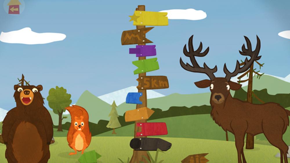 """Bei """"Squirrel & Bär"""" lernen Kinder spielerisch englische Vokabeln"""