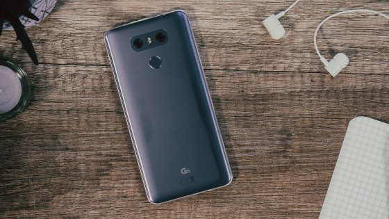 Rückseite LG G6 mit Dual-Kamera