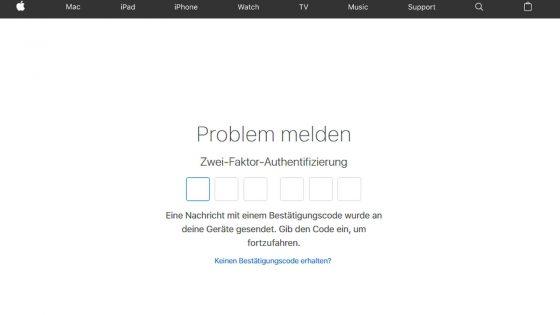 iTunes App zurückgeben authentifizieren