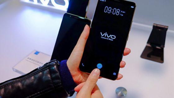 Vivo-Smartphone mit In-Screen-Fingerabdrucksensor