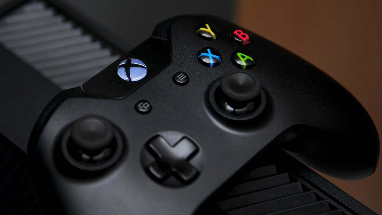 Xbox-One-Controller auf Konsole