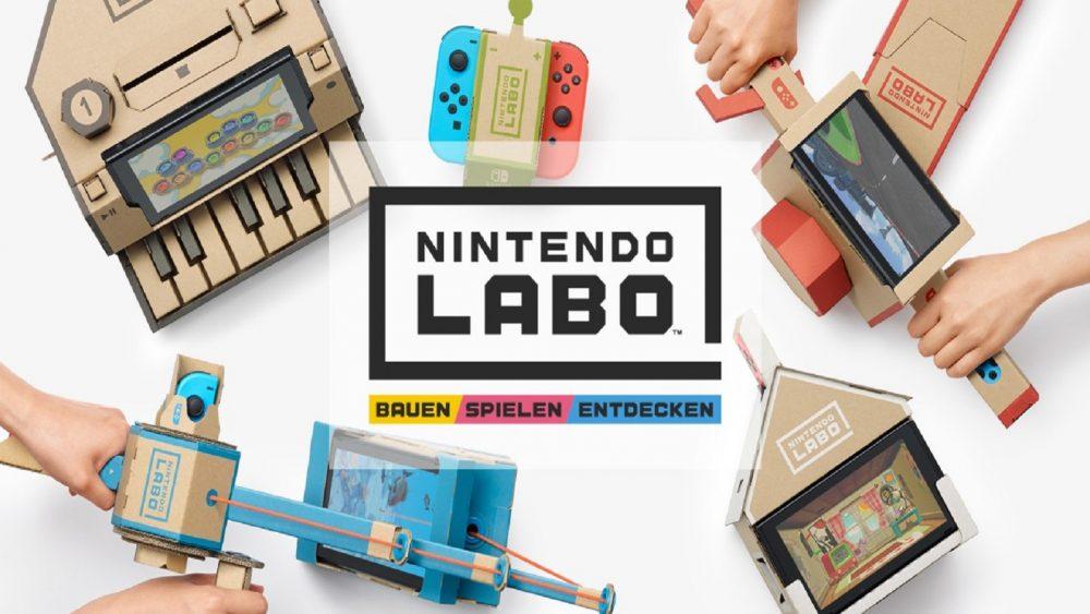 Toy-Con-Werkstatt für Nintendo Labo erlaubt eigene Projekte