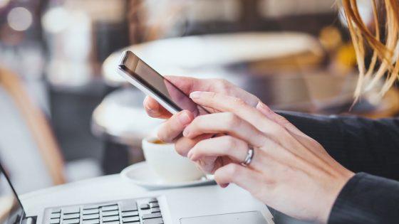 Bewerbung und Lebenslauf am Smartphone