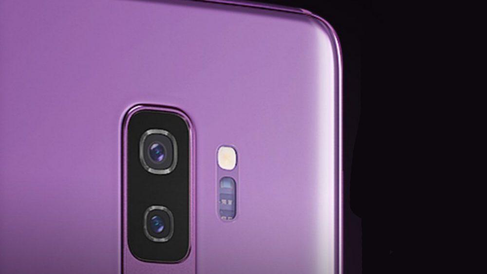 Samsung Galaxy S9 Kamerablende