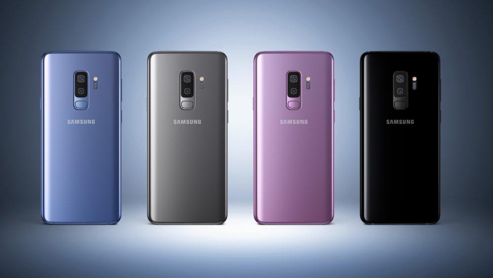 Galaxy S9 Farben