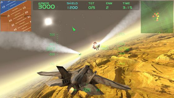 VR Apps iOS Fractal Combat X