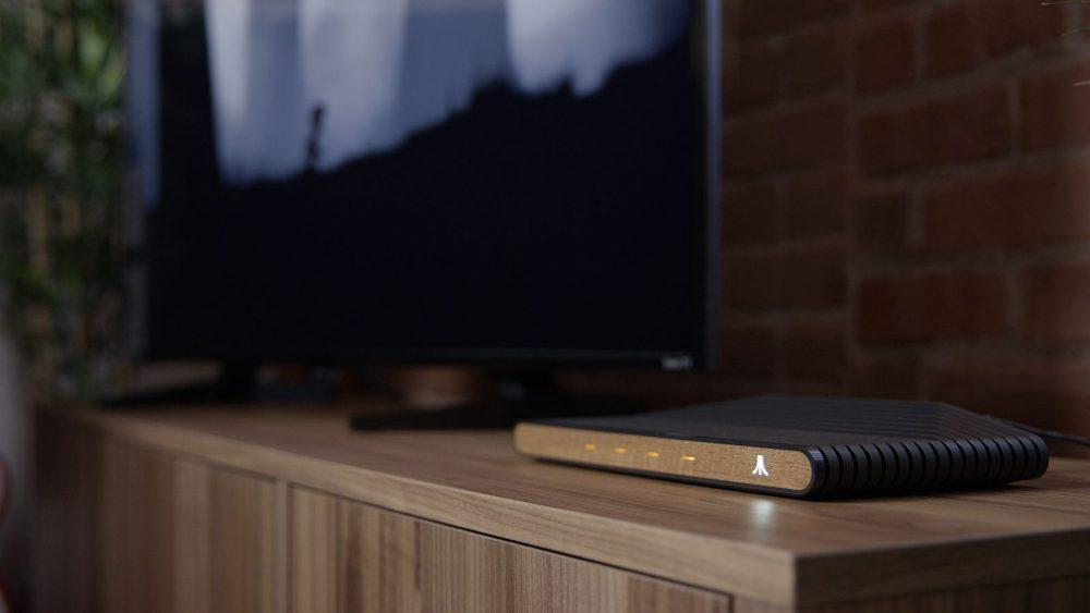 Atari VCS mit Fernseher