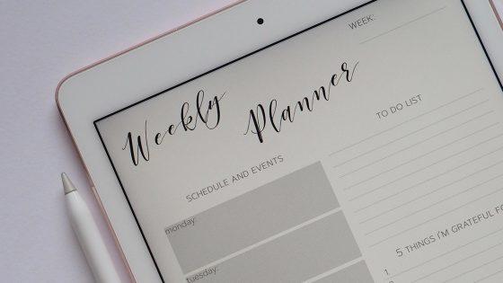 iPad mit Apple Pen