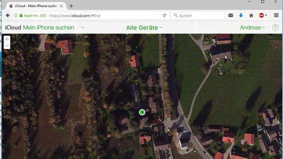 iPhone sicher konfigurieren Standort
