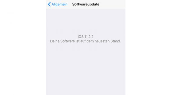 iPhone sicher konfigurieren Update