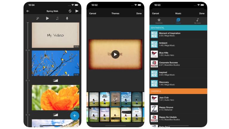 WeVideo App zum Schneiden von Videos
