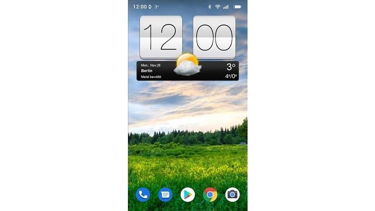 Sense V2 Flip Clock and Weather Widget für Android