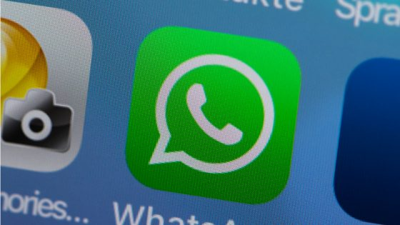 WhatsApp Button Smartphone