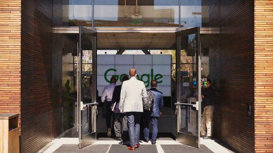 Google IO Eingang