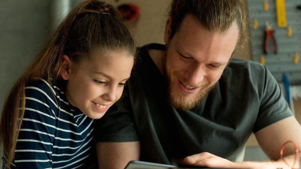 Gemeinsame Facebook-Interessen von Eltern und Kindern