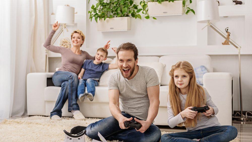 Konten für Familienmitglieder auf der PS4 einrichten