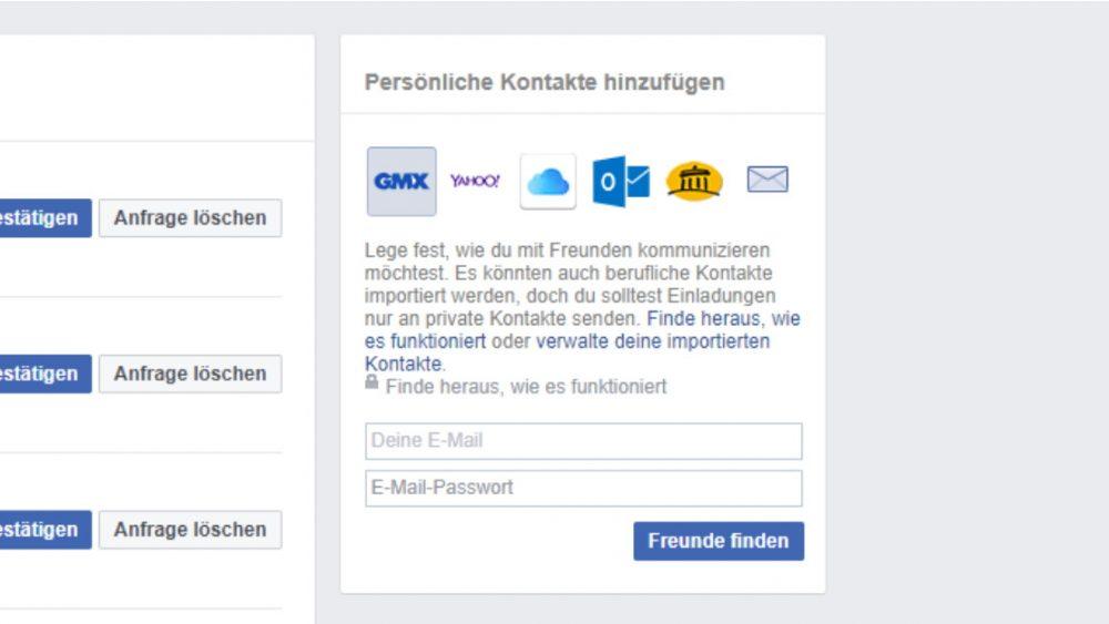 Finden personen auf ohne namen facebook Ein Facebook