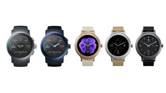 LG Smartwatches Android Wear OS
