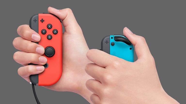 Nintendo Switch Joy Con laden