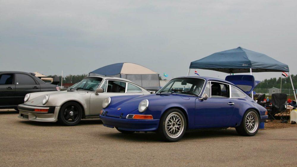 Porsche-Foto mit Polfilter