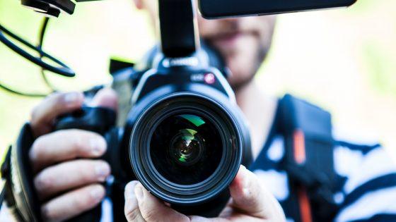 Videoaufnahme mit Kamera