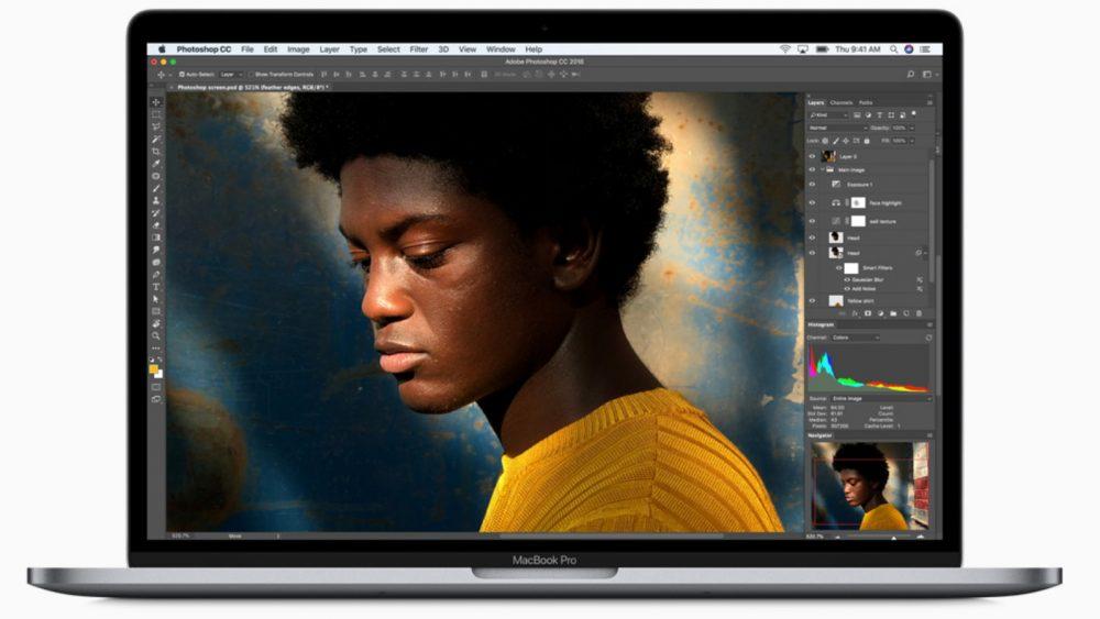 Photoshop auf dem Macbook Pro