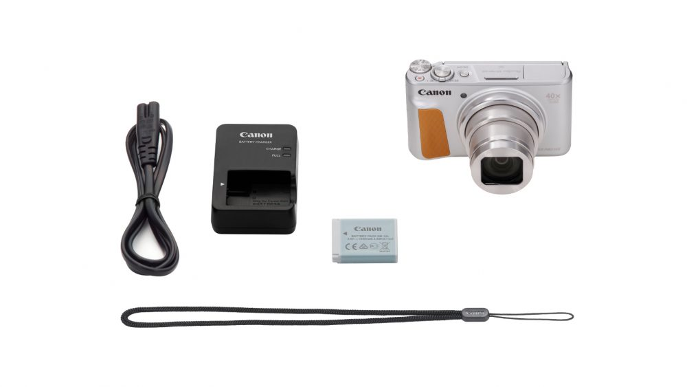Canon PowerShot SX740 HS Silber plus Lieferumfang