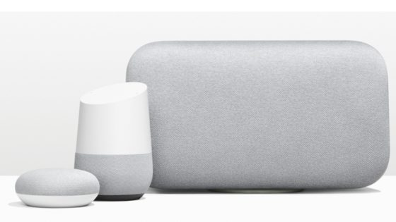 Google Home Mini, Google Home und Google Home Max