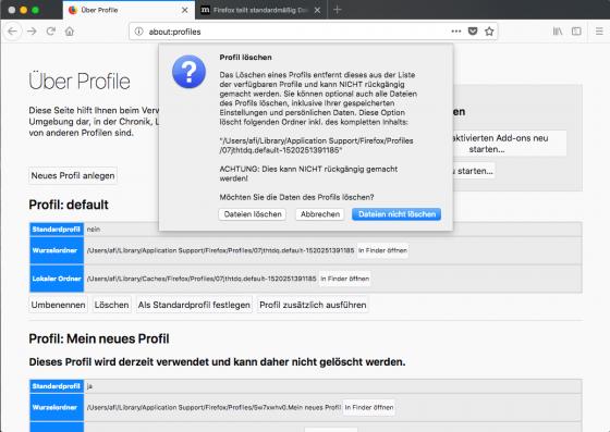 mac_Profil löschen